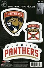 Florida Panthers Team ProMark Die-Cut Decal Stickers 3Pack
