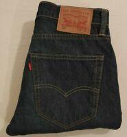 Levis 512 Mens Jeans Slim Fit Tapered Leg Light Stone Wash Blue Size W 30 L 32