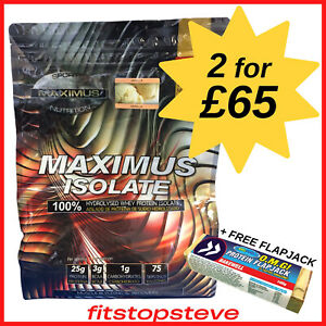 Maximus Isolate 2.27kg  TWO FOR £65  Hydrolysed Whey Protein