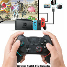 Para Nintendo Switch Bluetooth Wireless Gamepad Joypad Joystick Controlador Pro