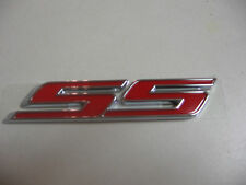 2010-2012 CHEVROLET CAMARO COUPE SS REAR TRUNK RED EMBLEM 92228475