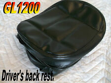 Honda GL1200 driver back rest  Replacement Cover GoldWing Markland 626