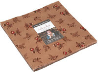 "Hickory Road Moda Layer Cake 42 100% Cotton 10"" Precut Quilt Squares"