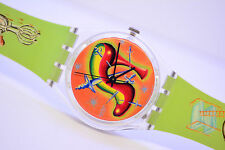 Original Swatch Gent STILETTO GK270 Armbanduhr damen herren Retro Uhren 1997