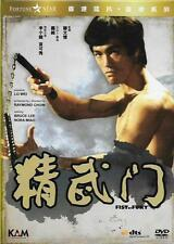 Fist of Fury DVD Remasterd Bruce Lee NEW Eng Sub Martial Arts