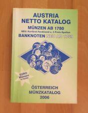 Austria Münz Katalog 2006 , stark gebraucht - mit Markierungen MK32827