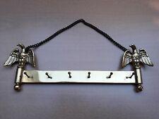 ► Vintage sleutelrekje / porte-clés / key wall hanger (marked P.M. Italy)