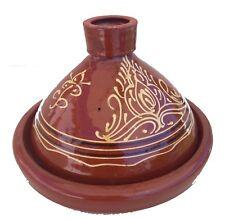 Plat a tajine tagine Marocain a3 cuisson terre cuite émaillé 30cm 5/6 personnes