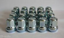 20 X M12 X 1.5 WOBBLE VARIABLE ALLOY WHEEL NUTS FIT HYUNDAI SANTA FE SONICA