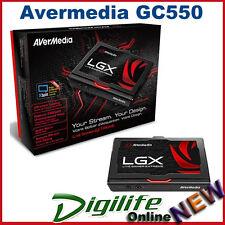 AVerMedia GC550 Live Gamer Extreme Capture 60fps HDMI Pass-thru Ultra-Low