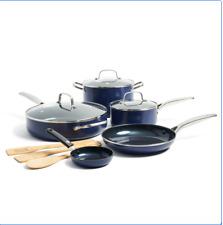 Blue Diamond Limited Edition 11-Piece Nonstick Ceramic Cookware Set
