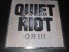 """QUITE RIOT """"QR III"""" PASHA 1986  ALBUM IS IN EXCELLENT CONDITION"""
