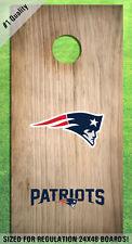 New England Patriots Corn Hole Bag Toss High Quality Decals HD - Full Set