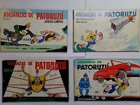 Lote 4 historietas Patoruzu comic argentino Coleccionrevistas libros tebeos