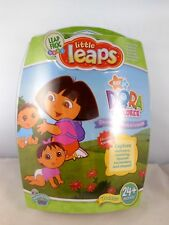 NEW Leap Frog Baby Little Leaps Dora the Explorer DVD & Learning Activities Book