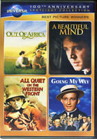 OUT OF AFRICA / A BEAUTIFUL MIND / ALL QUIET ON THE WESTERN FRONT / GOING  (DVD)