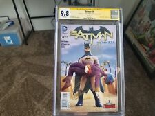 Batman # 29 Robot Chicken Variant Cover CGC 9.8 2x signed Capullo, and Snyder