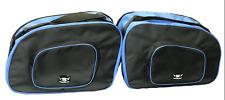 BMW R100 K75 K100 ALFORJA FORRO BOLSAS INTERIOR Totalmente Nuevo Mejor Calidad Azul/Negro