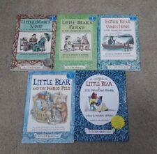 Lot of 5 Little Bear Books; Else Holmelund Minarik, Maurice Sendak; Level 1