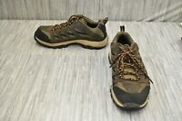 Columbia Crestwood Hiking Shoes, Men's Size 7W, Brown