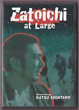 Zatoichi #23 Zatoichi At Large DVD Japanese w/Eng Subs Samurai