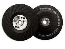 """Flexipads Smerigliatrice Angolare Sostegno Turbo Pad ISO DURO 115 mm 4 1/2"""" M14 x 2.0 Sabbia"""