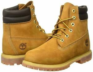 MEDIUM Timberland 6 Inch Waterville Double Collar Wheat Womens Boots 42687