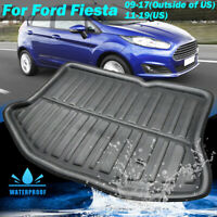 Boot Liner Cargo Tray Trunk Floor Mat For Ford Fiesta MK7 Hatchback 2009-2017