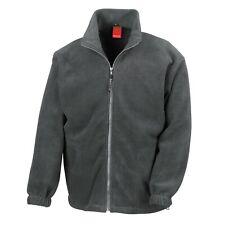 Result Mens Fleece Jacket Full Zip Up Heavy Outdoor Warm Polar Anti Pill Work
