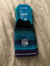 Stance Nba Charlotte Hornets Mens Socks Medium Nwt