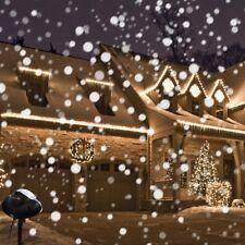 Christmas Snowfall Projector Lights LED Projector Light  Landscape Lamp