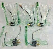 PANEL MOUNT RECEPTACLE 6i-4 18 AWG NEW 125V AC LOT OF 5 10 AMP,