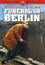 Funeral in Berlin DVD 1966 Michael Caine, Harry Palmer Spy Classic Rare Movie