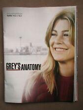 Poster Grey's Anatomy (2019) Staffel 14+15 (Ellen Pompeo)