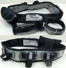 Sport Zone Running Training Fitness Hydration Waist Belt Reflective Arm Tape
