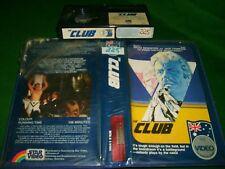Betamax *THE CLUB* 1980 Pre Cert RARE Ozploitation Star Video 1st Issu Beta Tape
