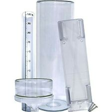 """Precision Rain Gauge With Mounting Bracket (14"""" All Weather)"""