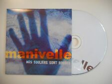 MANIVELLE : MES SOULIERS SONT ROUGES [CD SINGLE PORT GRATUIT]