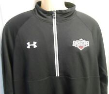 NWT Under Armour All America Football All Season Gear 1/2 Zip Jacket Black Men's