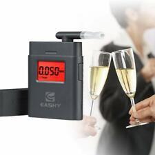 Breath Alcohol Tester Breathalyzer Keychain Digital Breathalyzers LCD Display
