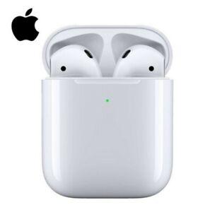 BOX SEALED 2021 Apple Earpods 2nd Generation HD Quality w/Wireless Charging Case