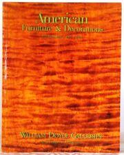 Americana Furniture & Decorations WILLIAM DOYLE GALLERIES New YORK June 4 1997