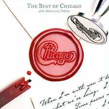 The Best Of Chicago: 40th Anniversary Edition (2CD) Chicago Audio CD! FREE S/H!
