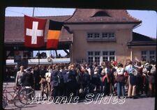 1971 kodachrome photo slide Scouts  Vitznau   Switzerland