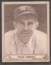 1940 Play Ball #21 Rick Ferrell Senators HOF Ex++
