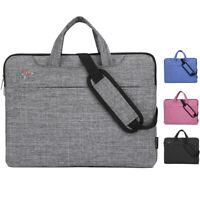 Laptop Sleeve Case Shoulder Bag Handbag For HP Dell Lenovo Apple 13 14 15 inch~