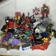 Vintage Transformers & Power Rangers Parts LOT  review photos 10 Pounds