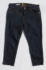 KUT from the KLOTH BARDOT Soft Stretch Denim Skinny Boyfriend Crop Jeans sz 4 6
