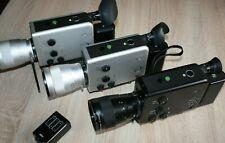 """Super 8 Kameras Nizo professional,801 in Silber und 801 in Black mit Mängel"""""""""""