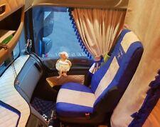 Camions Sitzbezüge pour DAF XF 106 XF 105 avec de nouveaux sièges bleu-beige Old Skool
